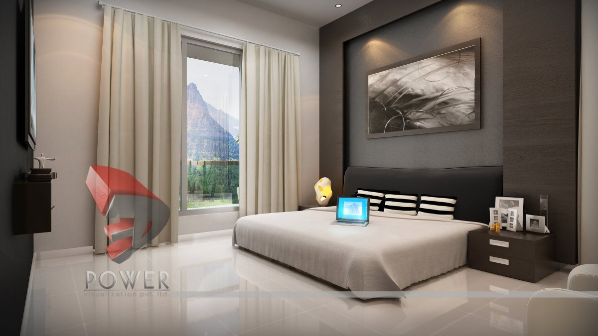 Bed room interior designer in rohini